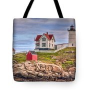 Cape Neddick Nubble Lighthouse II Tote Bag