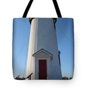 Cape Poge Lighthouse Tote Bag