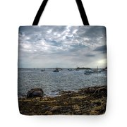 Cape Porpoise Maine - In The Evening Tote Bag