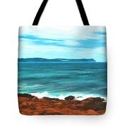 Cape Spear Shoreline Tote Bag