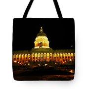 Capital Building In Utah Salt Lake City Tote Bag