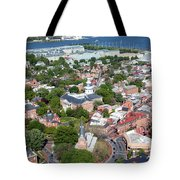Capital City Of Maryland Tote Bag
