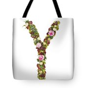 Capital Letter Y Tote Bag