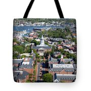 Capital Of Maryland In Annapolis Tote Bag