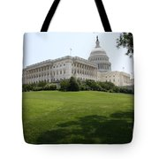 Capitol Hill View Washington Dc Tote Bag