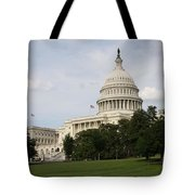 Capitol Hill Washington Dc Tote Bag