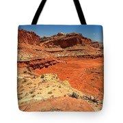 Capitol Reef Colorful Landscape Tote Bag