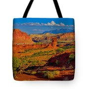 Capitol Reef Landscape Tote Bag
