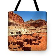 Capitol Reef Twin Towers Tote Bag