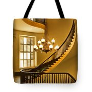 2 - Capitol Staircase - Montgomery Alabama Tote Bag