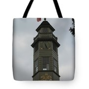 Thunderstorm Clouds Over Capitol Tower Tote Bag