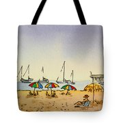Capitola - California Sketchbook Project  Tote Bag by Irina Sztukowski