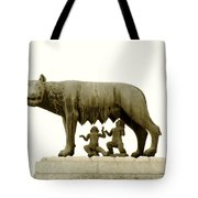 Capitoline She-wolf Tote Bag
