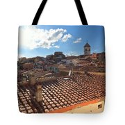 Capoliveri Against The Sun - Elba Island Tote Bag
