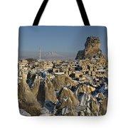 Cappadocia In Winter Tote Bag