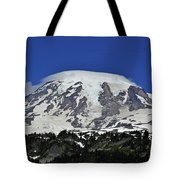 Capped Rainier Up Close Tote Bag