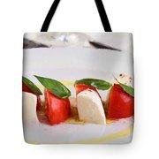 Caprese Mozzarella And Tomatoes Tote Bag