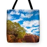 Caprock Canyon Tree Tote Bag