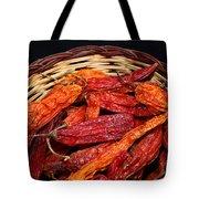 Capsicum Baccatum Chilis Tote Bag