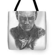 Captain America Tote Bag by Christine Jepsen