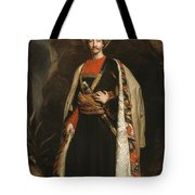 Captain Colin Mackenzie In His Afghan Tote Bag by James Sant