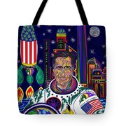 Captain Mitt Romney - American Dream Warrior Tote Bag by Robert SORENSEN