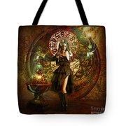 Captain Persephone Tote Bag