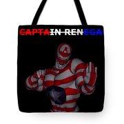 Captain Renegade Super Hero Combating Crime Tote Bag