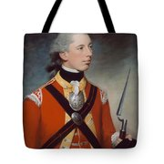 Captain Thomas Hewitt, 10th Regiment Tote Bag by William Tate