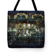 Captive On The Carousel Of Time Tote Bag