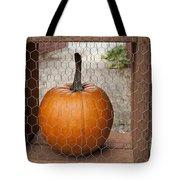 Captive Pumpkins Tote Bag