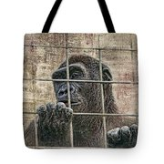 Captivity Tote Bag by Tom Mc Nemar