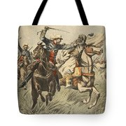 Capture Of Samory By Lieutenant Tote Bag