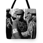 Captured Chinese Soldier Tote Bag