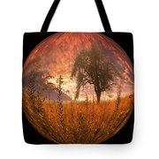 Captured Flame Tote Bag