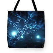 Captured Stars Tote Bag