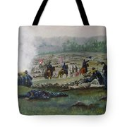 Capturing The Flag-picketts Charge Tote Bag