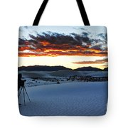 Capturing The Sunset Tote Bag