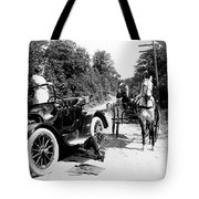 Car And Carriage, 1914 Tote Bag