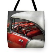 Car - Classic 50's  Tote Bag by Mike Savad