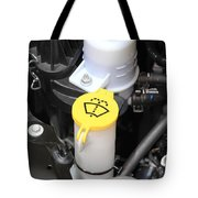 Car Engine Details Tote Bag