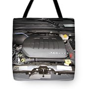 Car Engine Tote Bag