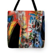 Car Of Many Colors Tote Bag