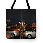 Car Park Beauty Tote Bag
