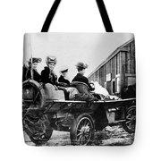 Car Race, 1908 Tote Bag
