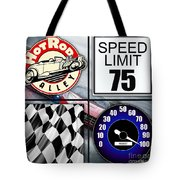 Speed Demon Art For Boys And Men Tote Bag