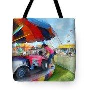 Car Ride At The Fair Tote Bag
