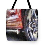 Car Rims 02 Photo Art 02 Tote Bag
