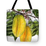 Carambolas Starfruit Two Up Tote Bag