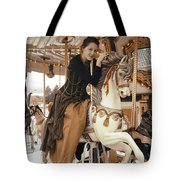 Caramel Carousel Tote Bag